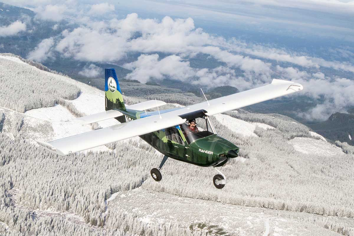 The Vashon Ranger R7 is an American airplane, from an American company