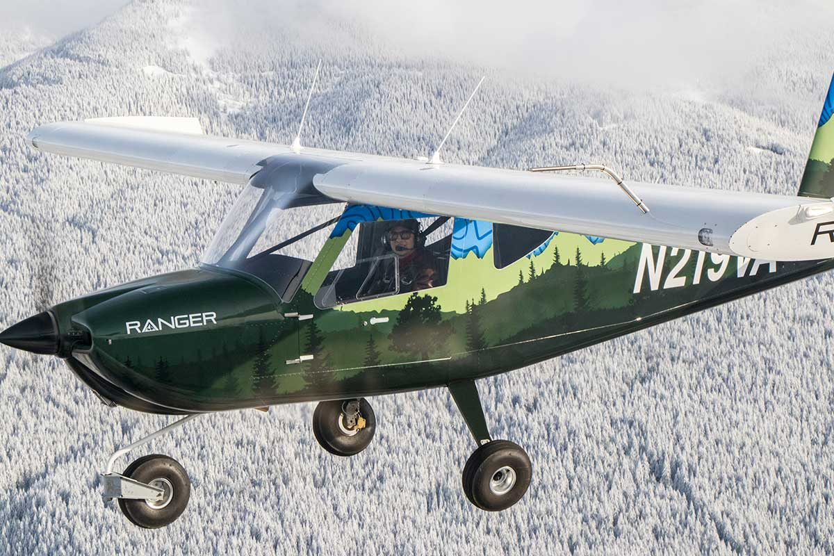 Vashon Ranger R7 flying near Seattle, WA